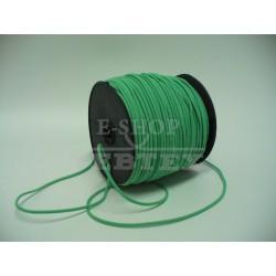 Prádlová pruženka kulatá průměr 2 mm světle zelená