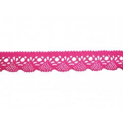 Bavlněná paličkovaná krajka 2012/30mm ostružinová/5m